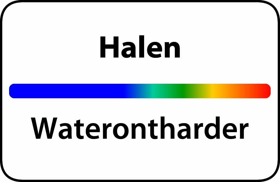 Waterontharder Halen
