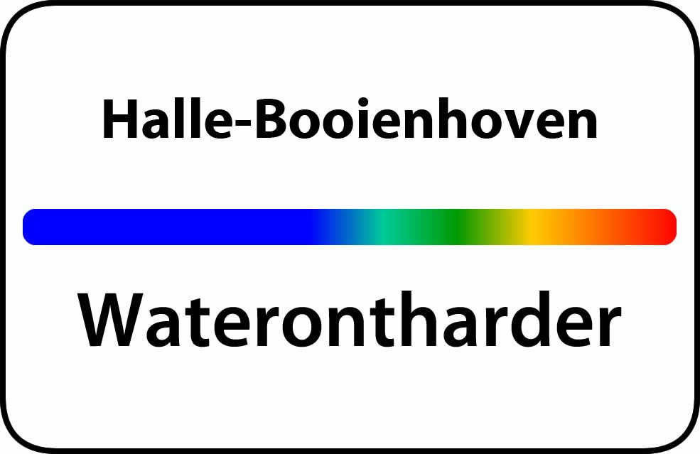 Waterontharder Halle-Booienhoven
