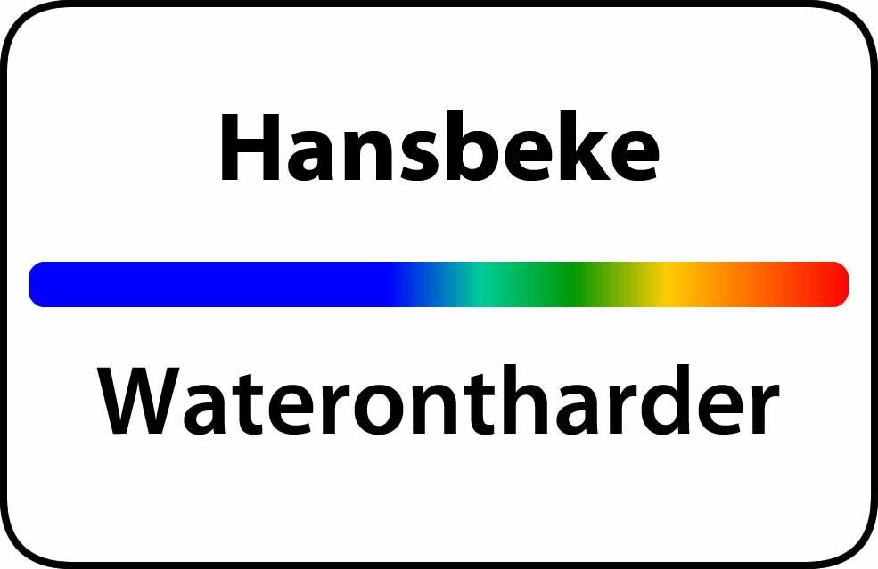 Waterontharder Hansbeke