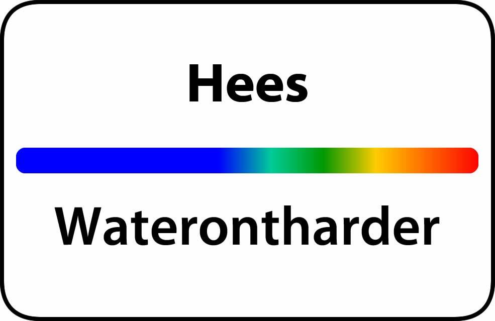 Waterontharder Hees