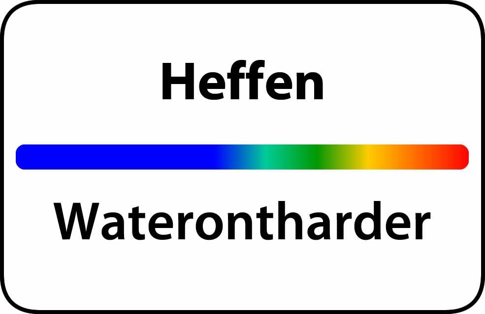 Waterontharder Heffen