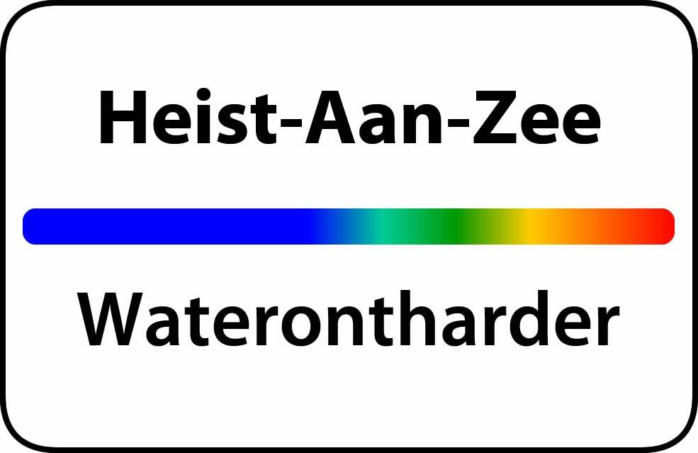 Waterontharder Heist-Aan-Zee