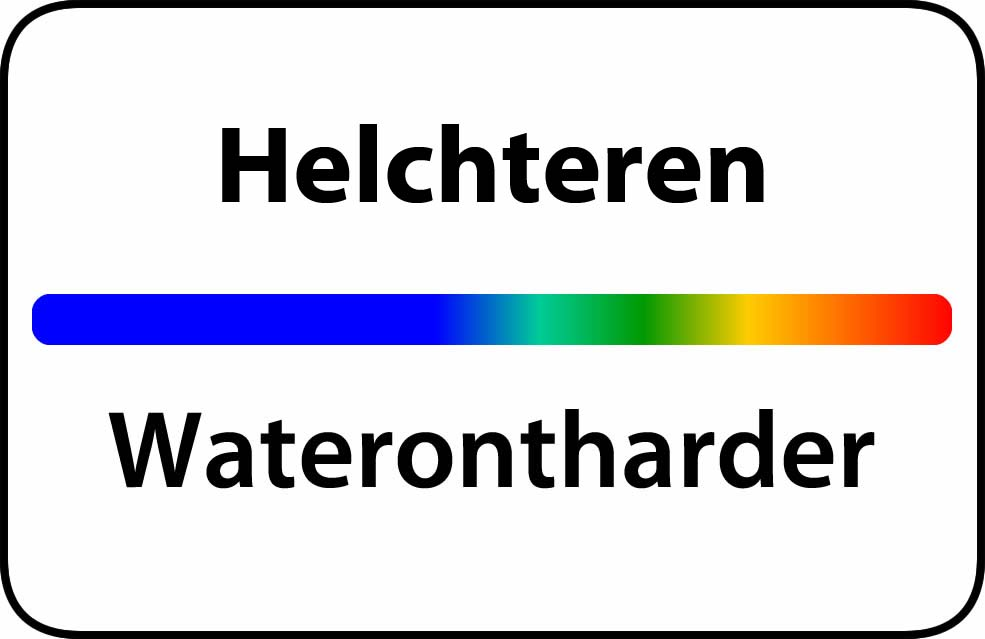 Waterontharder Helchteren
