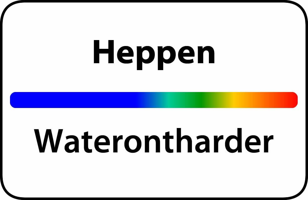 Waterontharder Heppen