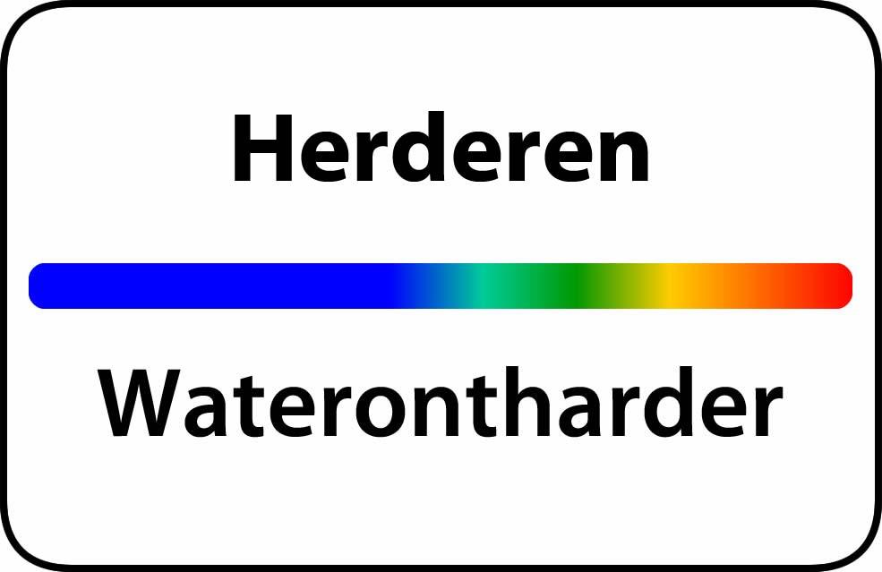 Waterontharder Herderen
