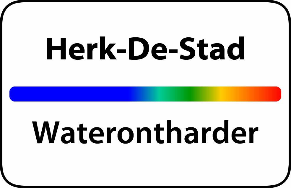 Waterontharder Herk-De-Stad