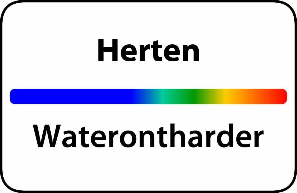 Waterontharder Herten