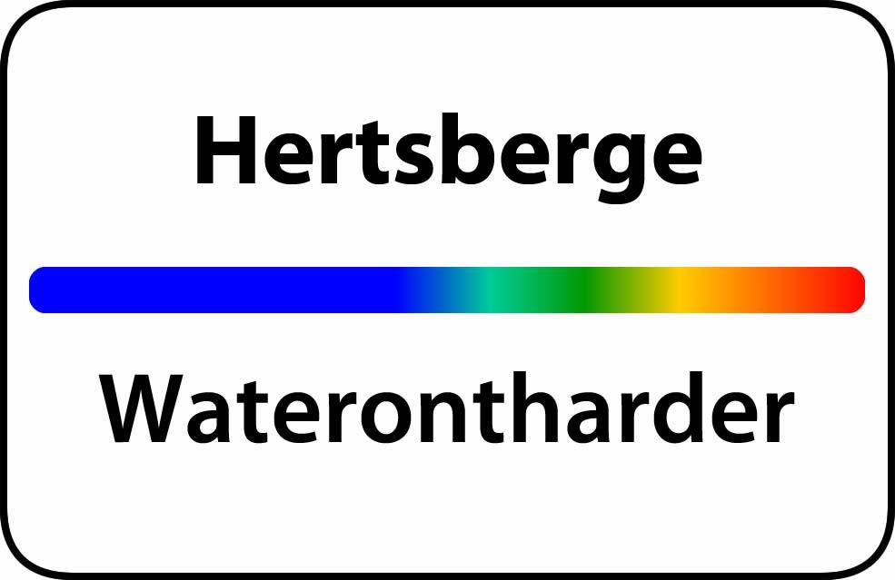 Waterontharder Hertsberge