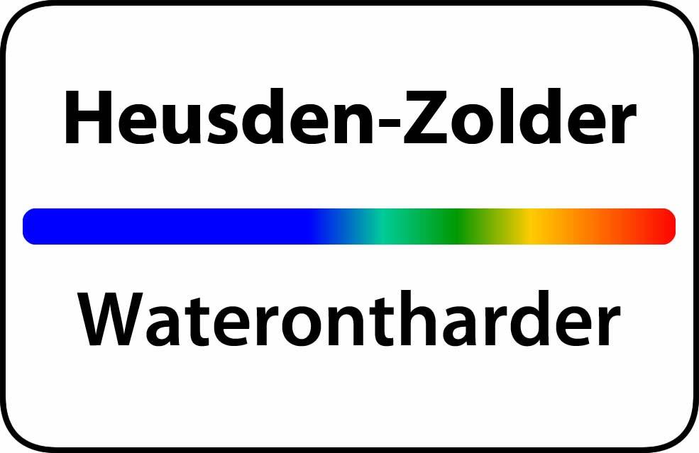 Waterontharder Heusden-Zolder