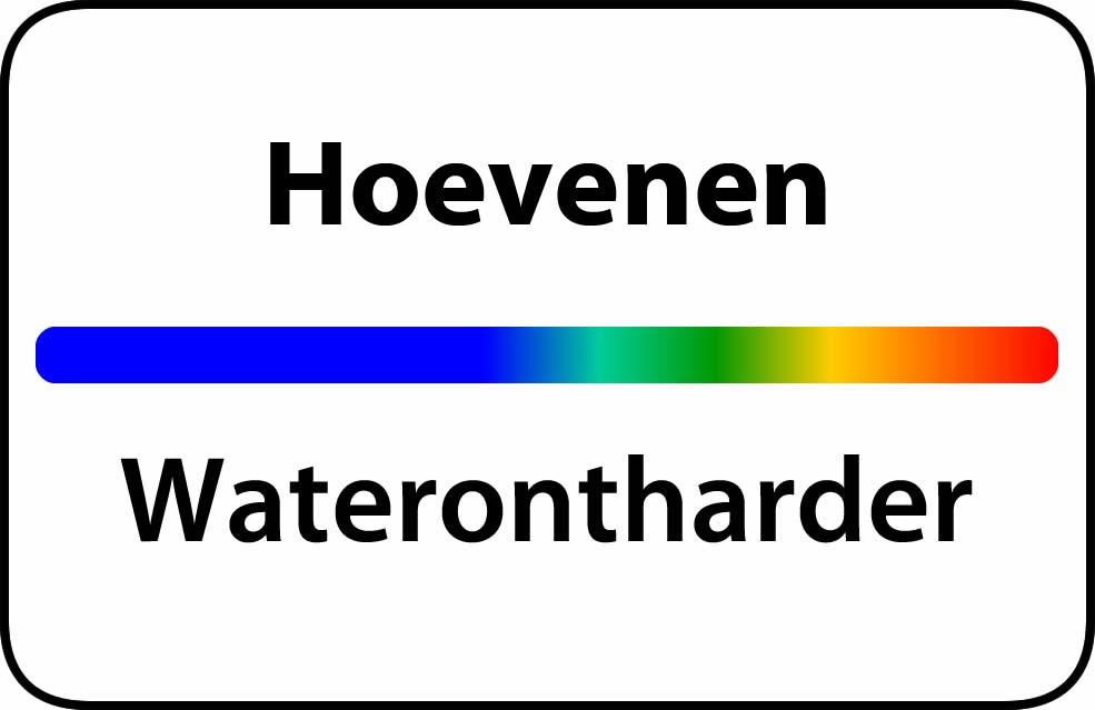 Waterontharder Hoevenen