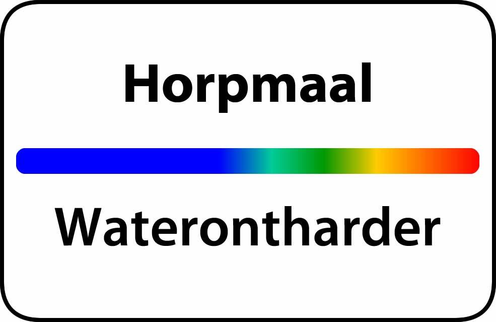 Waterontharder Horpmaal