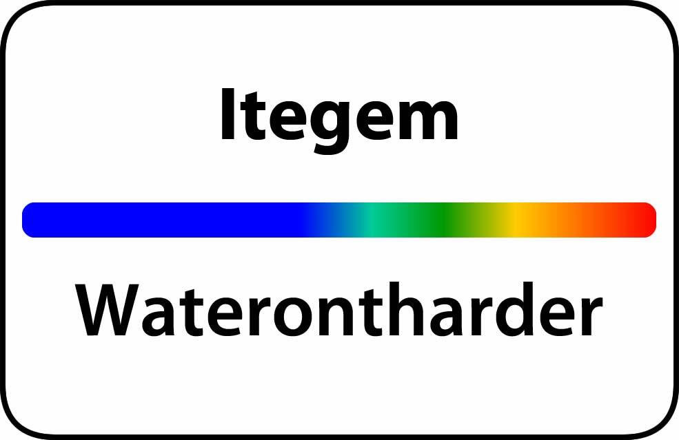 Waterontharder Itegem