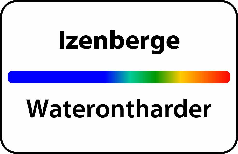 Waterontharder Izenberge