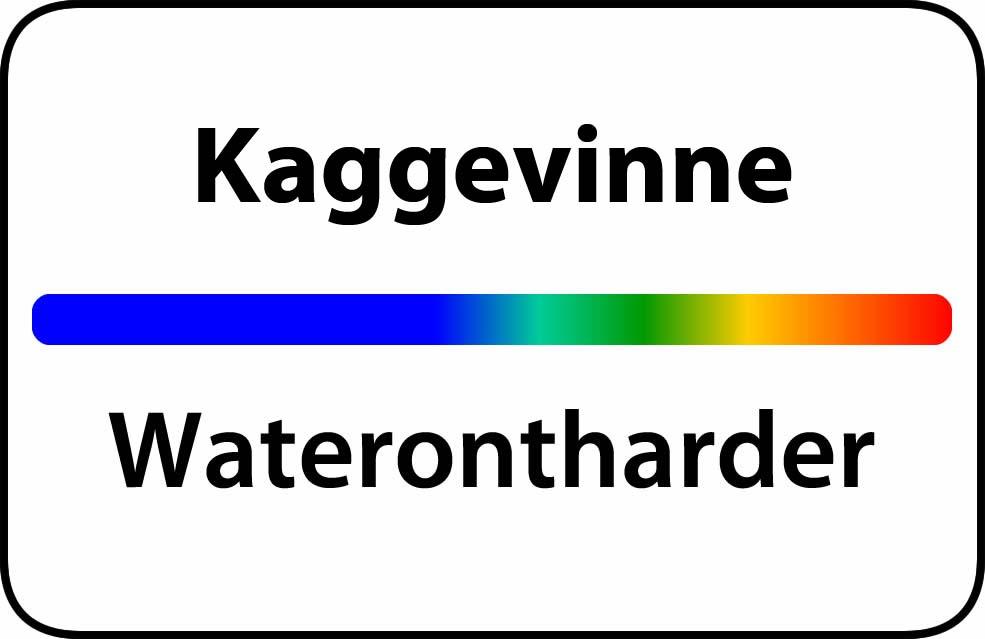 Waterontharder Kaggevinne