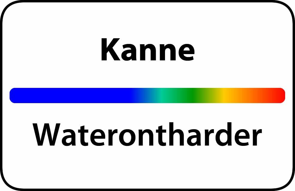 Waterontharder Kanne