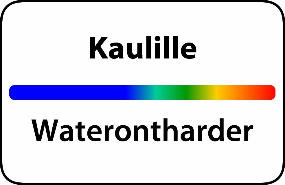 Waterontharder Kaulille