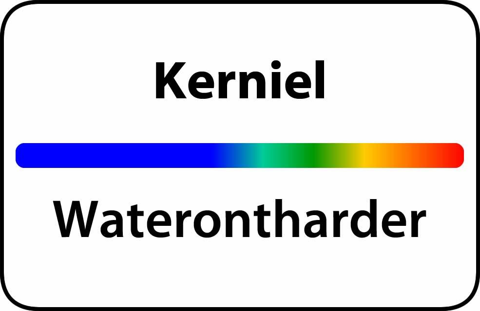 Waterontharder Kerniel
