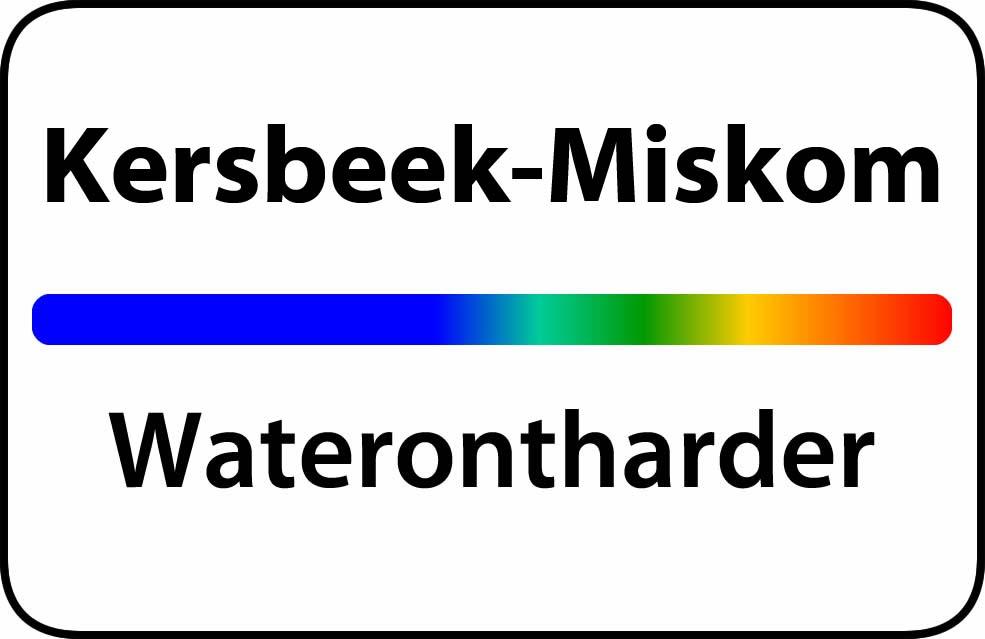 Waterontharder Kersbeek-Miskom