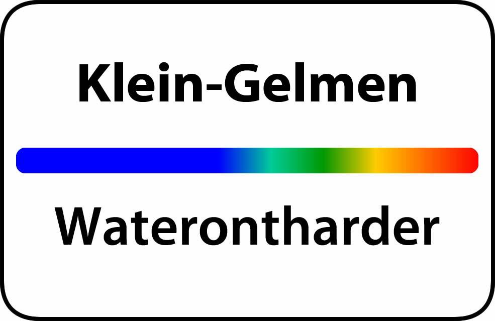 Waterontharder Klein-Gelmen