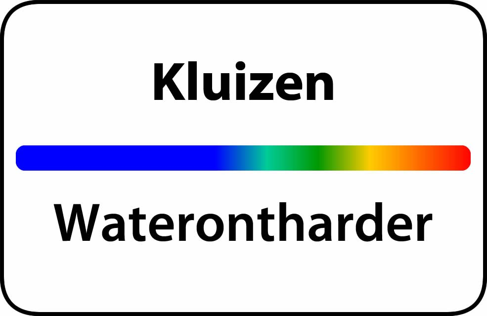 Waterontharder Kluizen