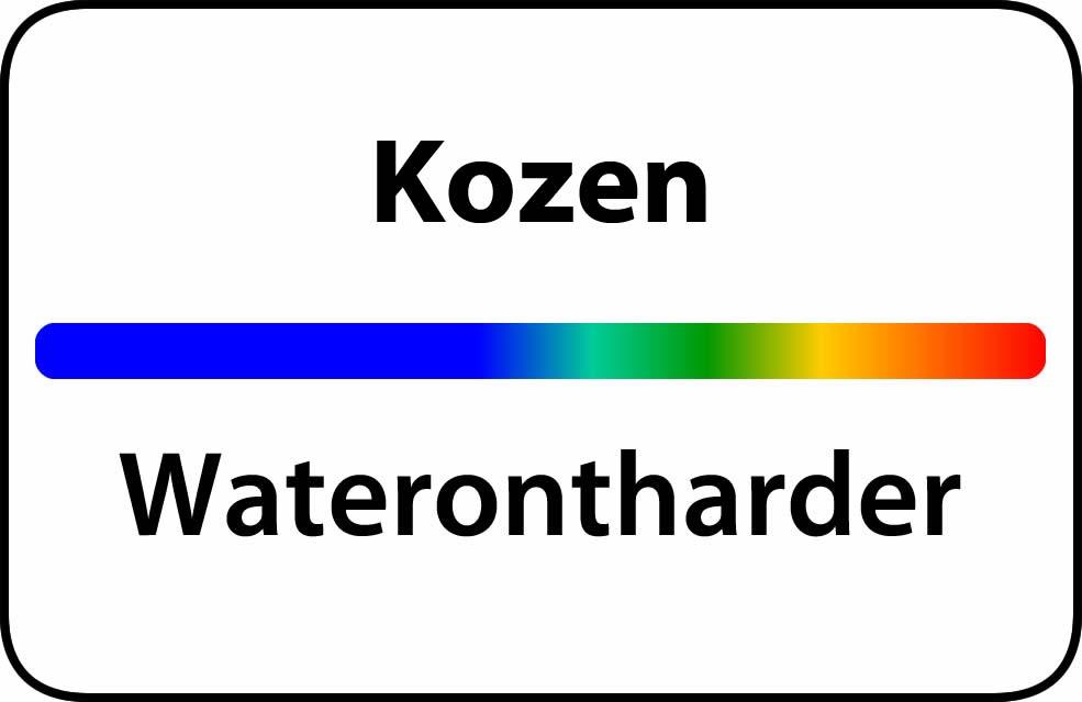 Waterontharder Kozen