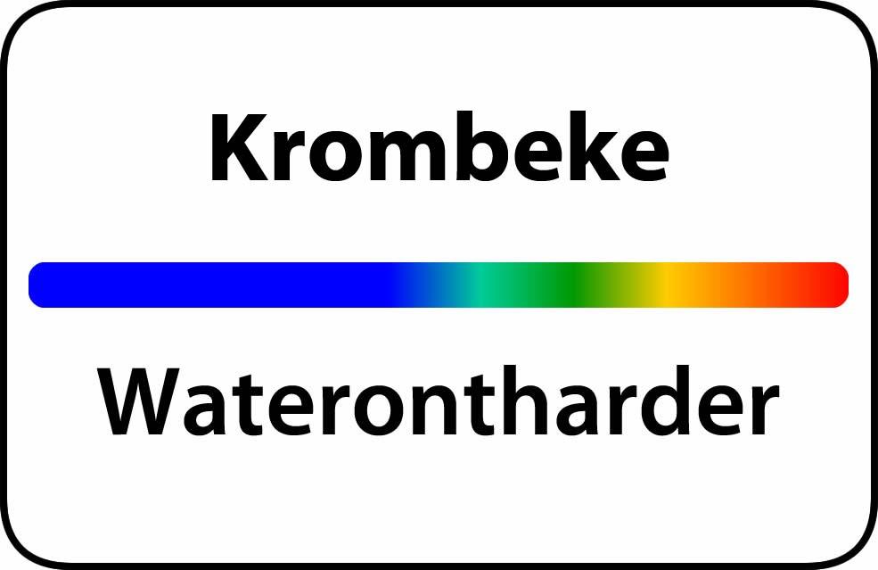 Waterontharder Krombeke