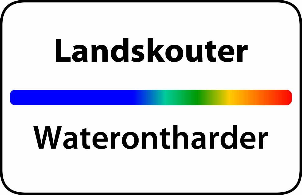 Waterontharder Landskouter