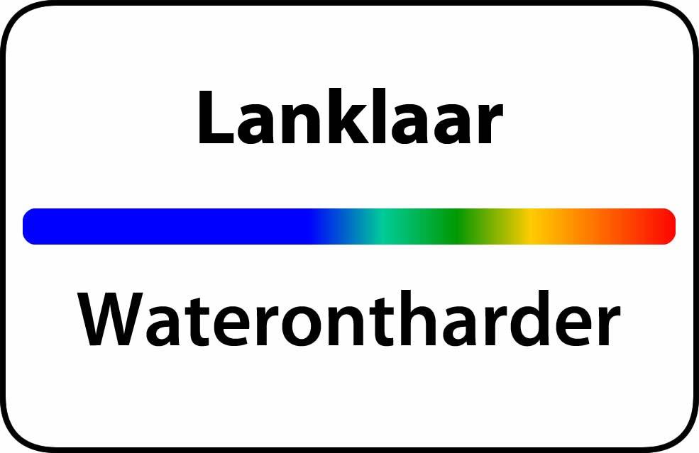 Waterontharder Lanklaar
