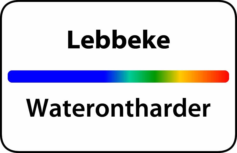 Waterontharder Lebbeke