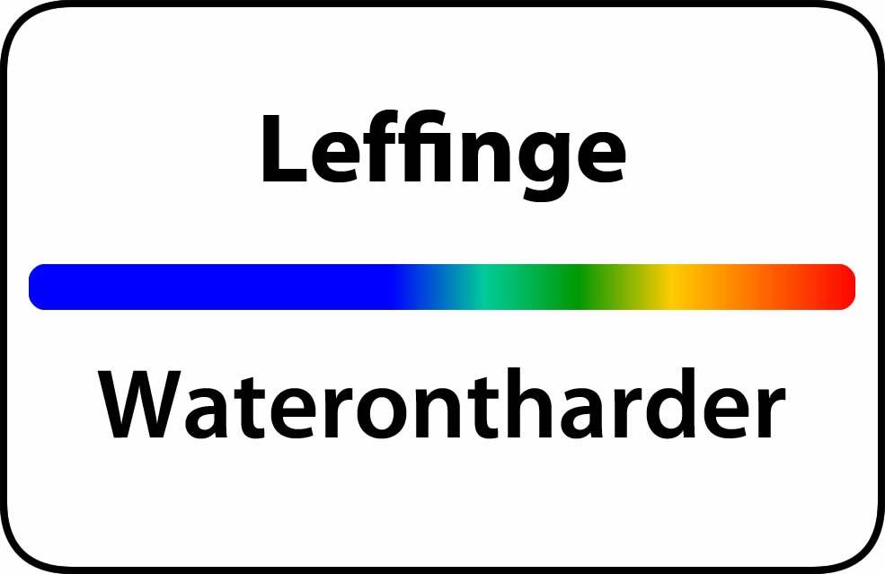 Waterontharder Leffinge