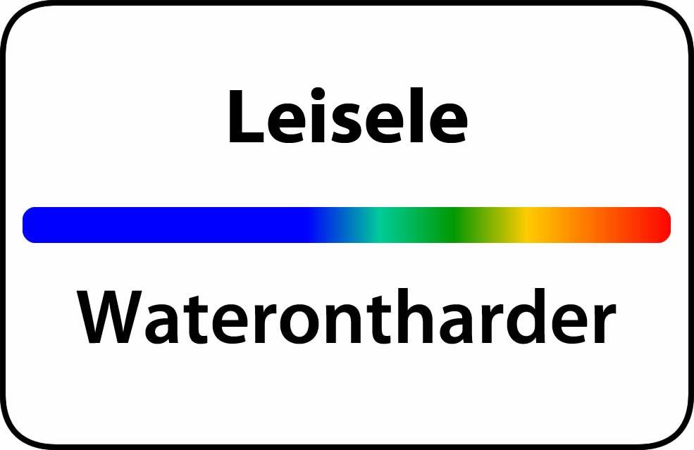 Waterontharder Leisele