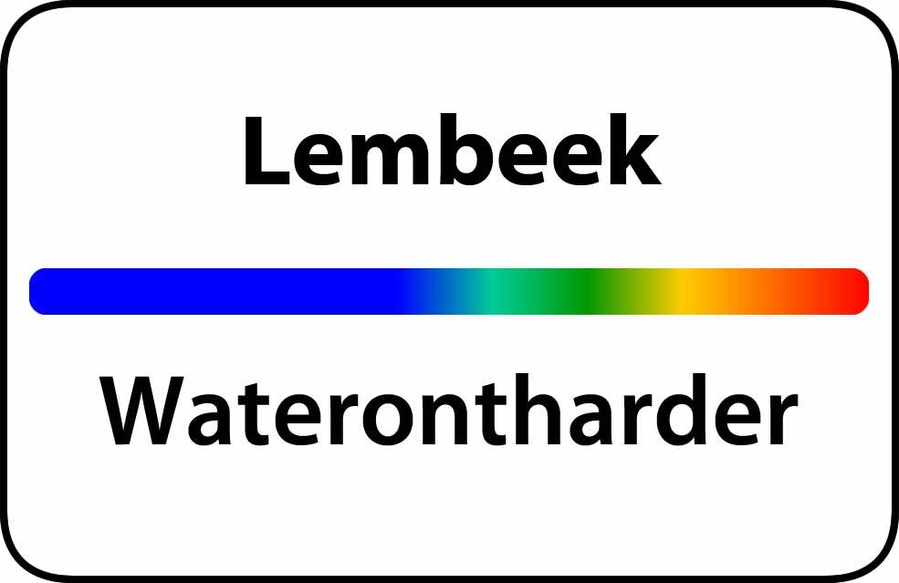 Waterontharder Lembeek