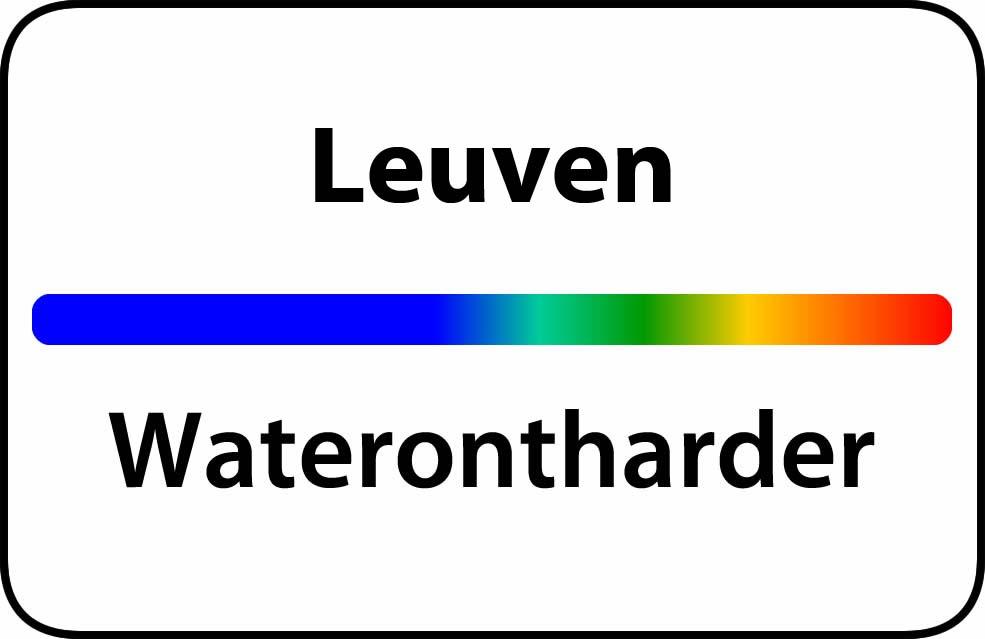 Waterontharder Leuven