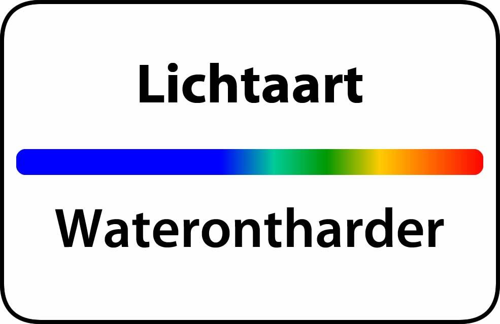 Waterontharder Lichtaart