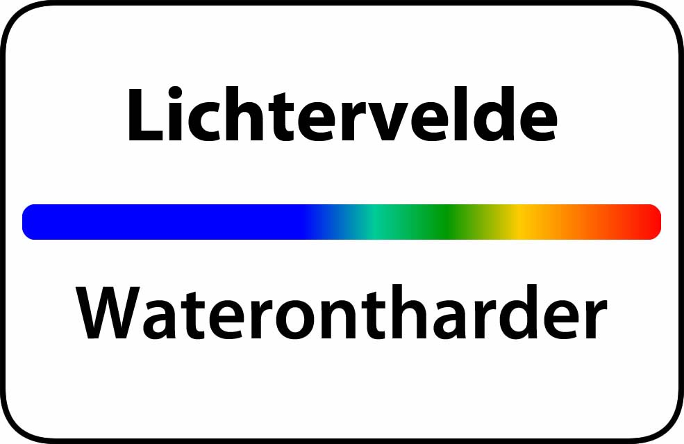 Waterontharder Lichtervelde