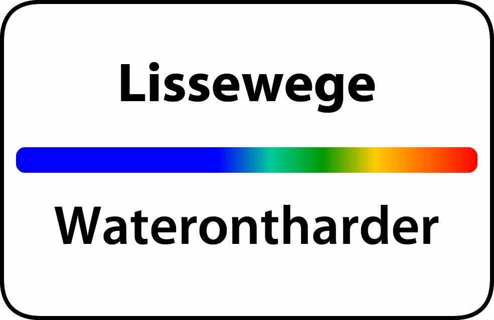 Waterontharder Lissewege