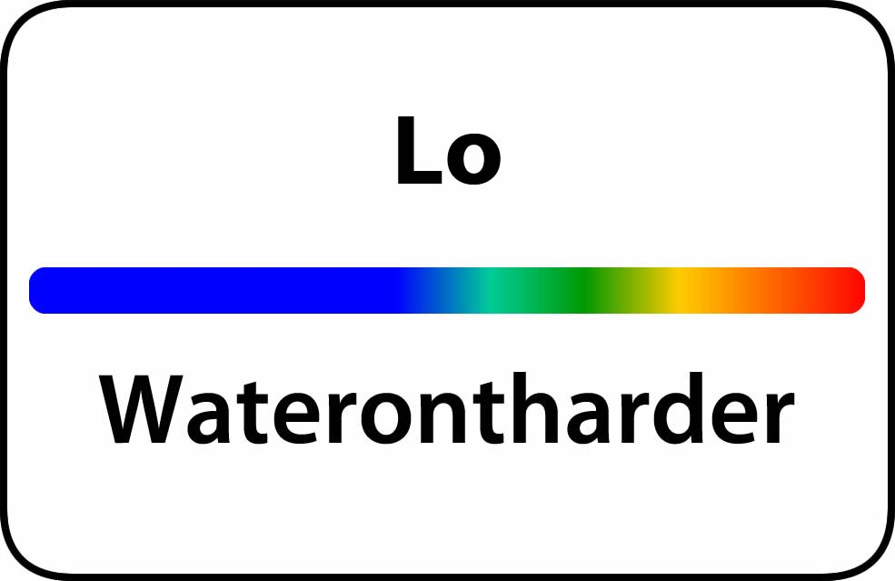 Waterontharder Lo