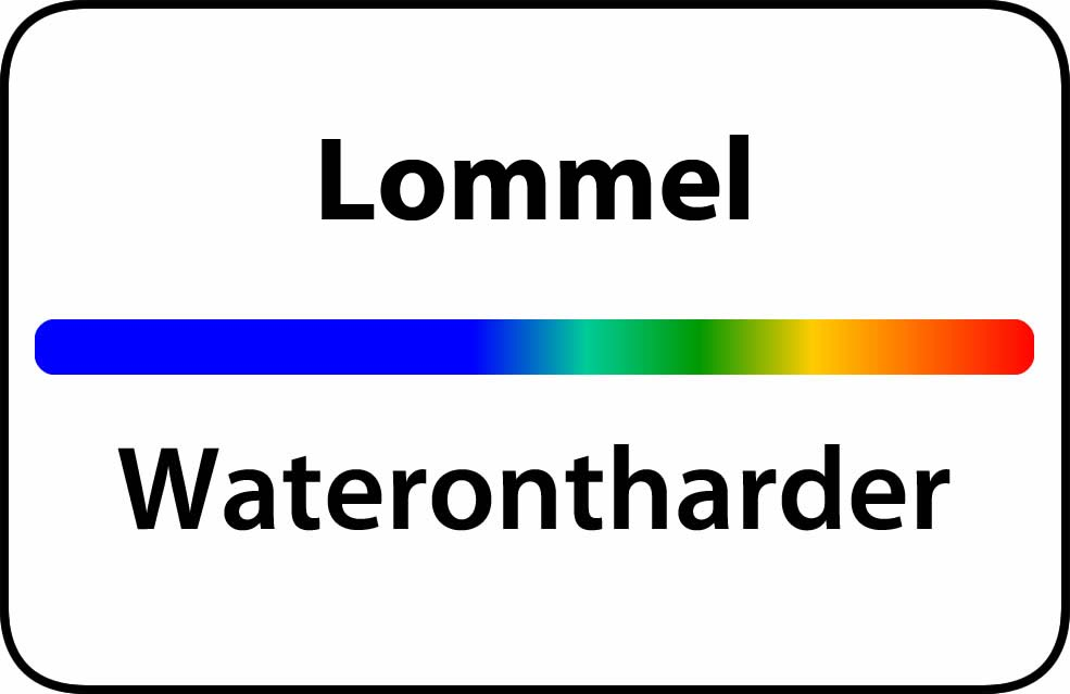 Waterontharder Lommel