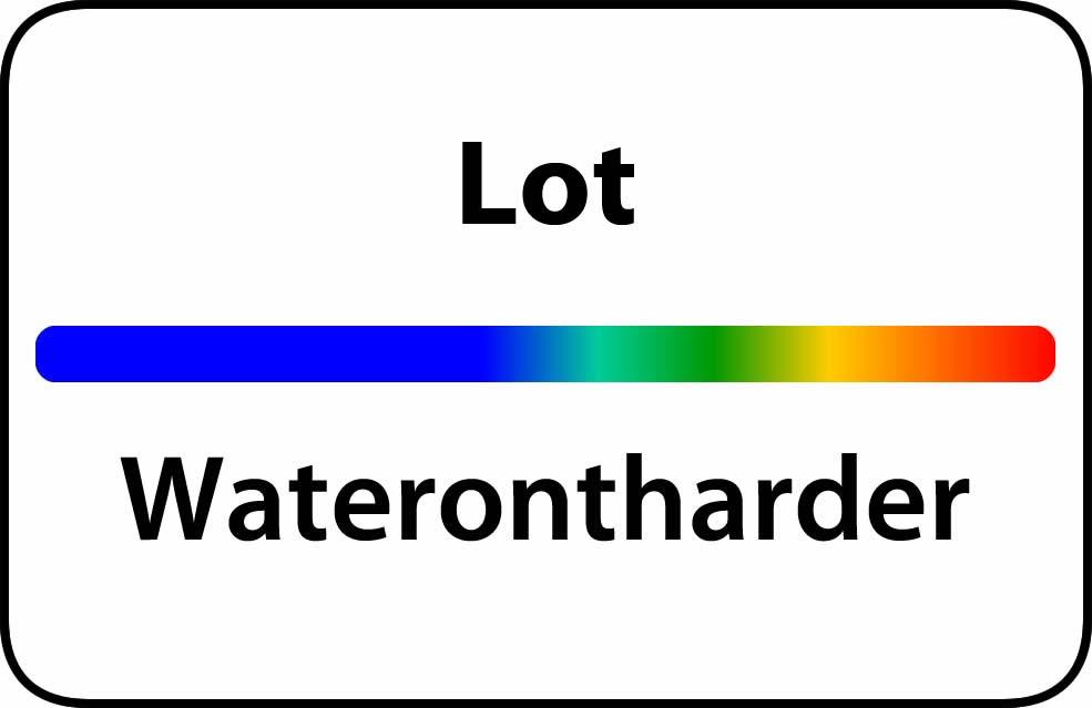 Waterontharder Lot