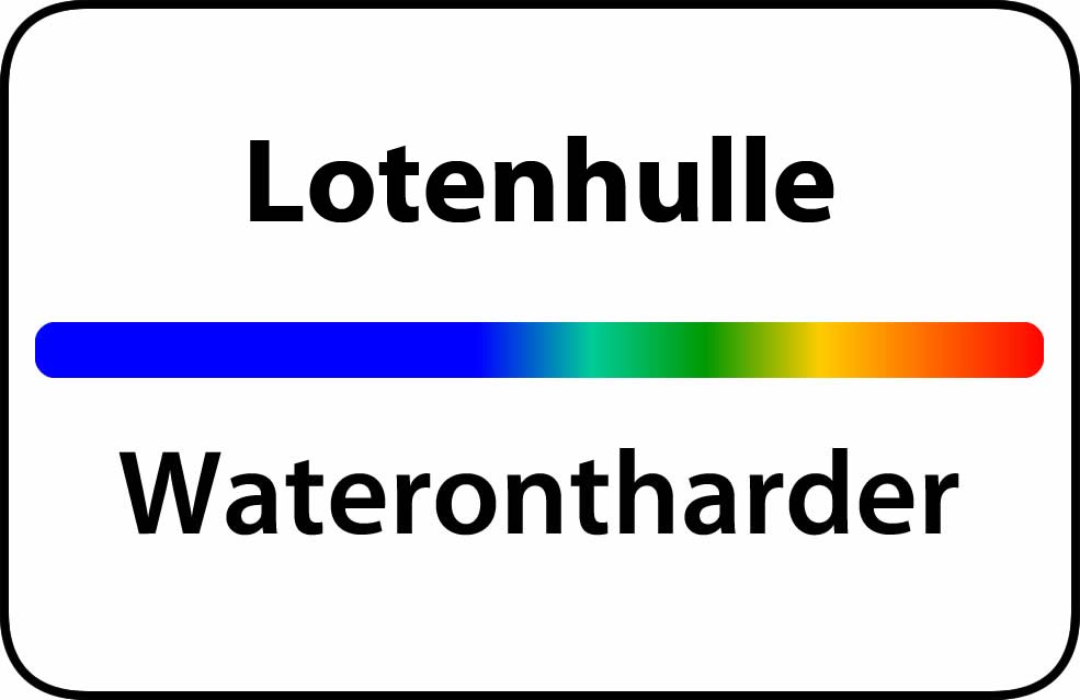 Waterontharder Lotenhulle