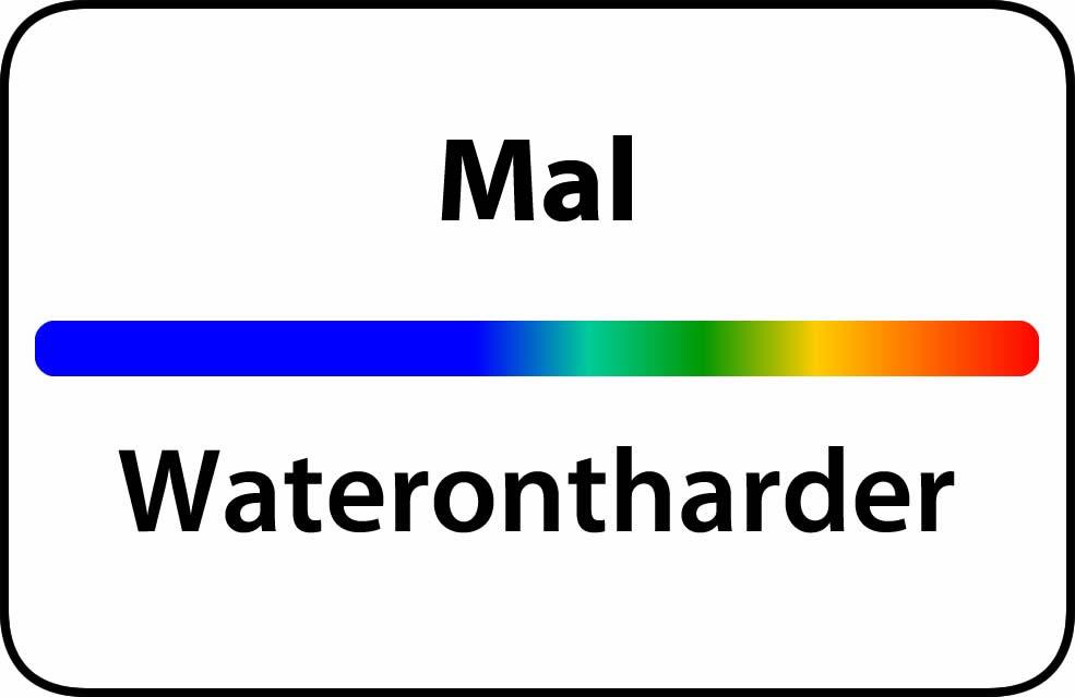 Waterontharder Mal