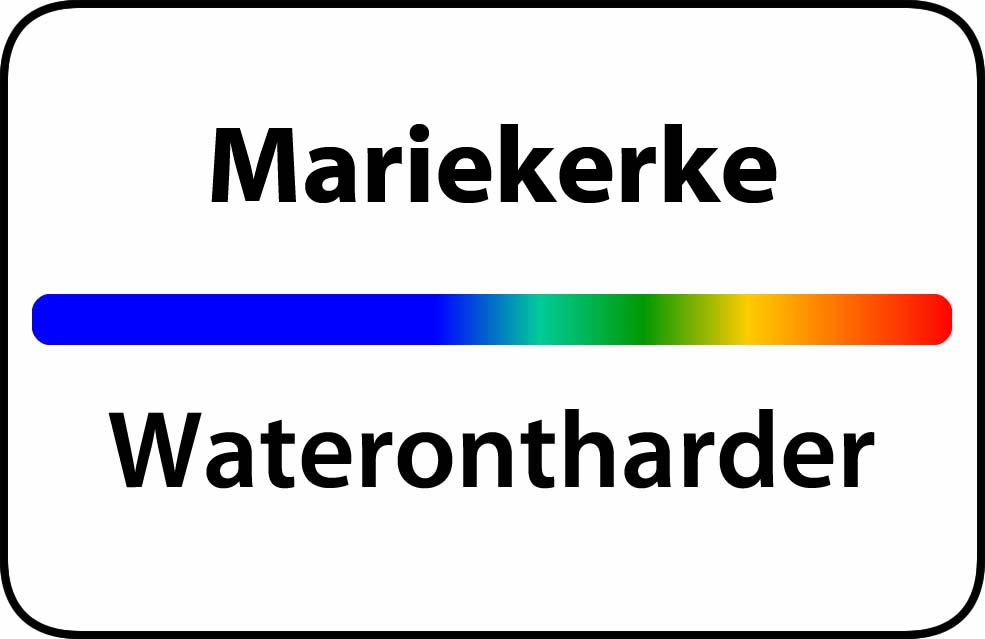 Waterontharder Mariekerke