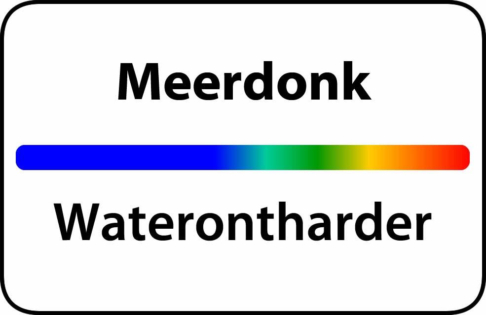 Waterontharder Meerdonk