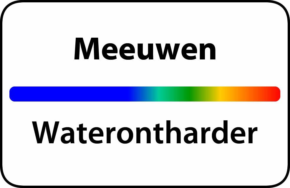 Waterontharder Meeuwen