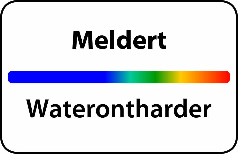 Waterontharder Meldert