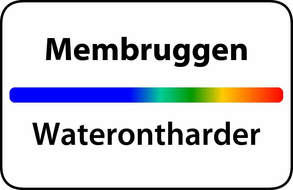 Waterontharder Membruggen