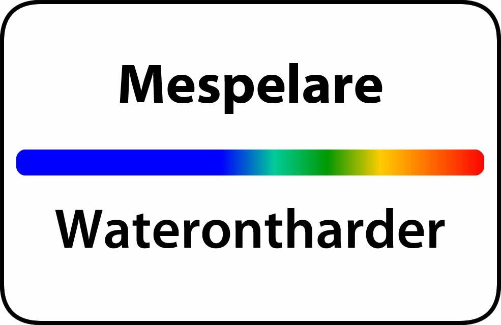 Waterontharder Mespelare