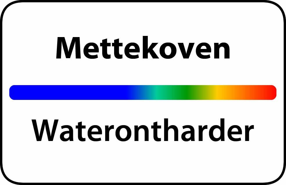 Waterontharder Mettekoven