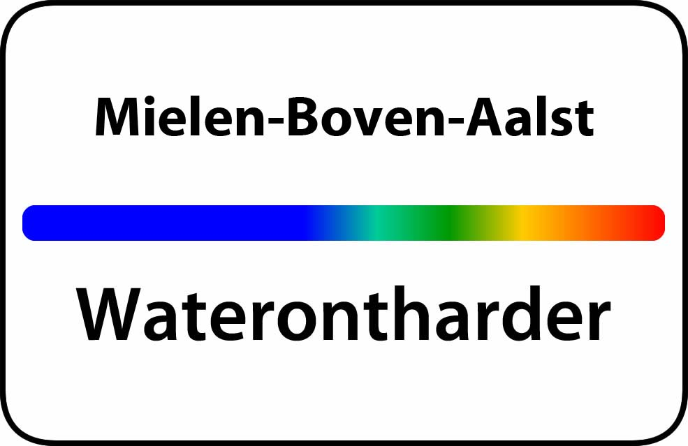 Waterontharder Mielen-Boven-Aalst