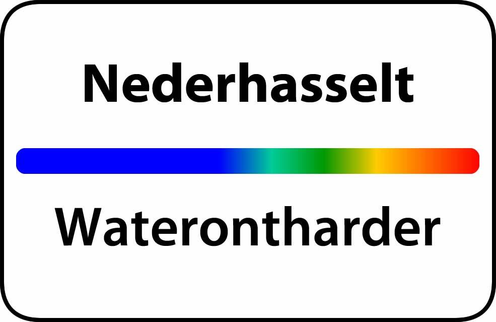 Waterontharder Nederhasselt